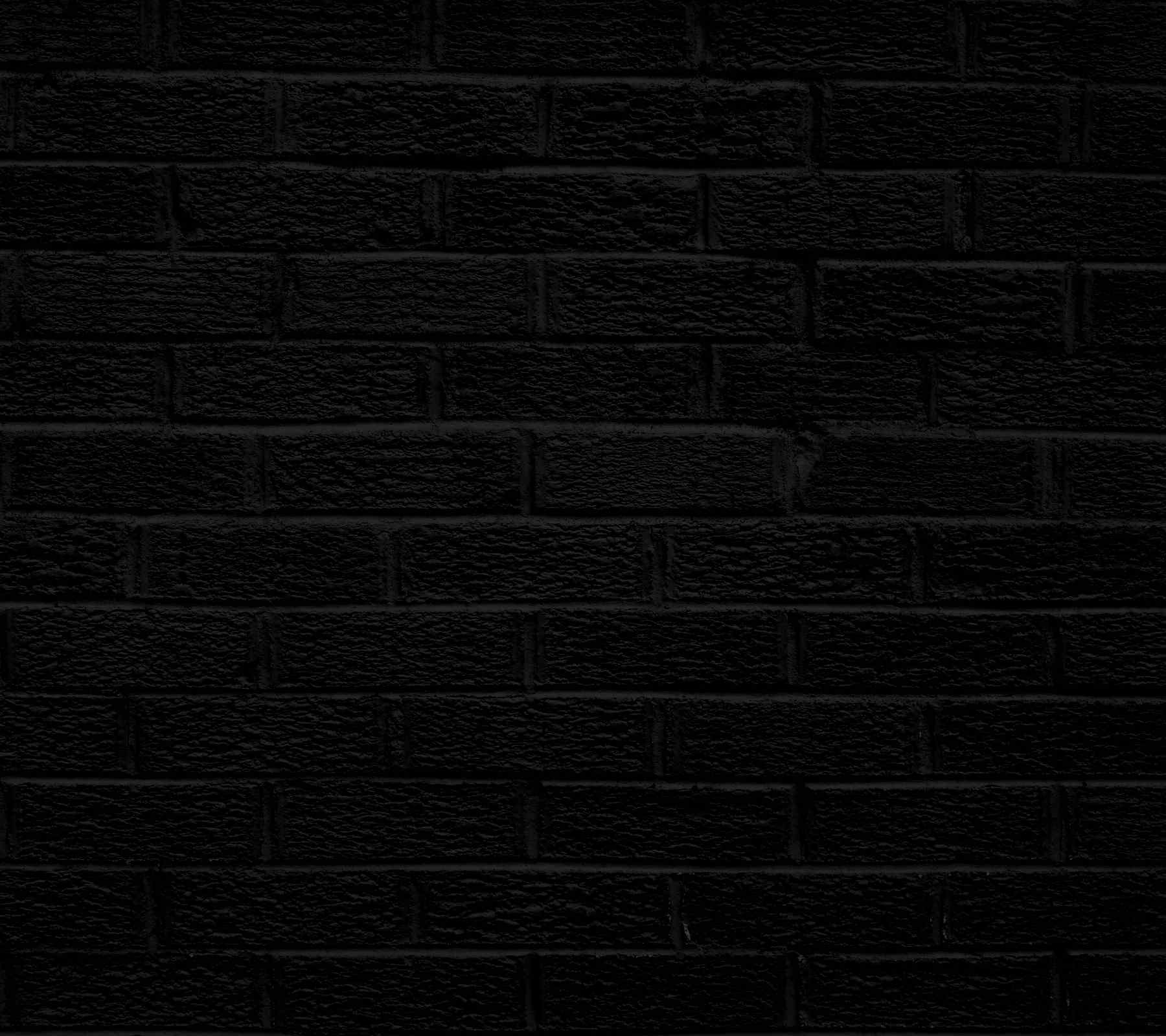 Black brick wall background 1800x1600 background image for Black 3d brick wallpaper