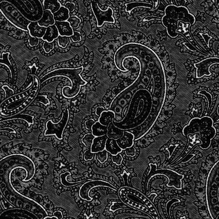 Black Paisley Background Seamless Pattern Background Image ...