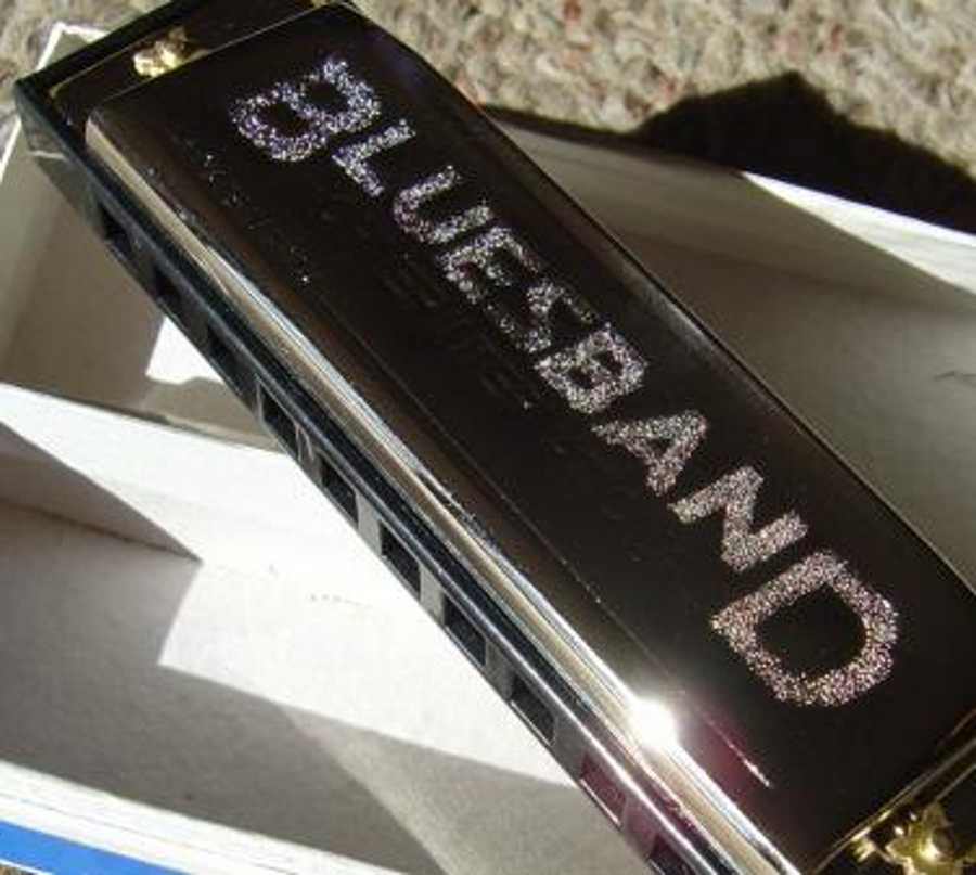 Blues Band Harmonica Background Image Wallpaper Or