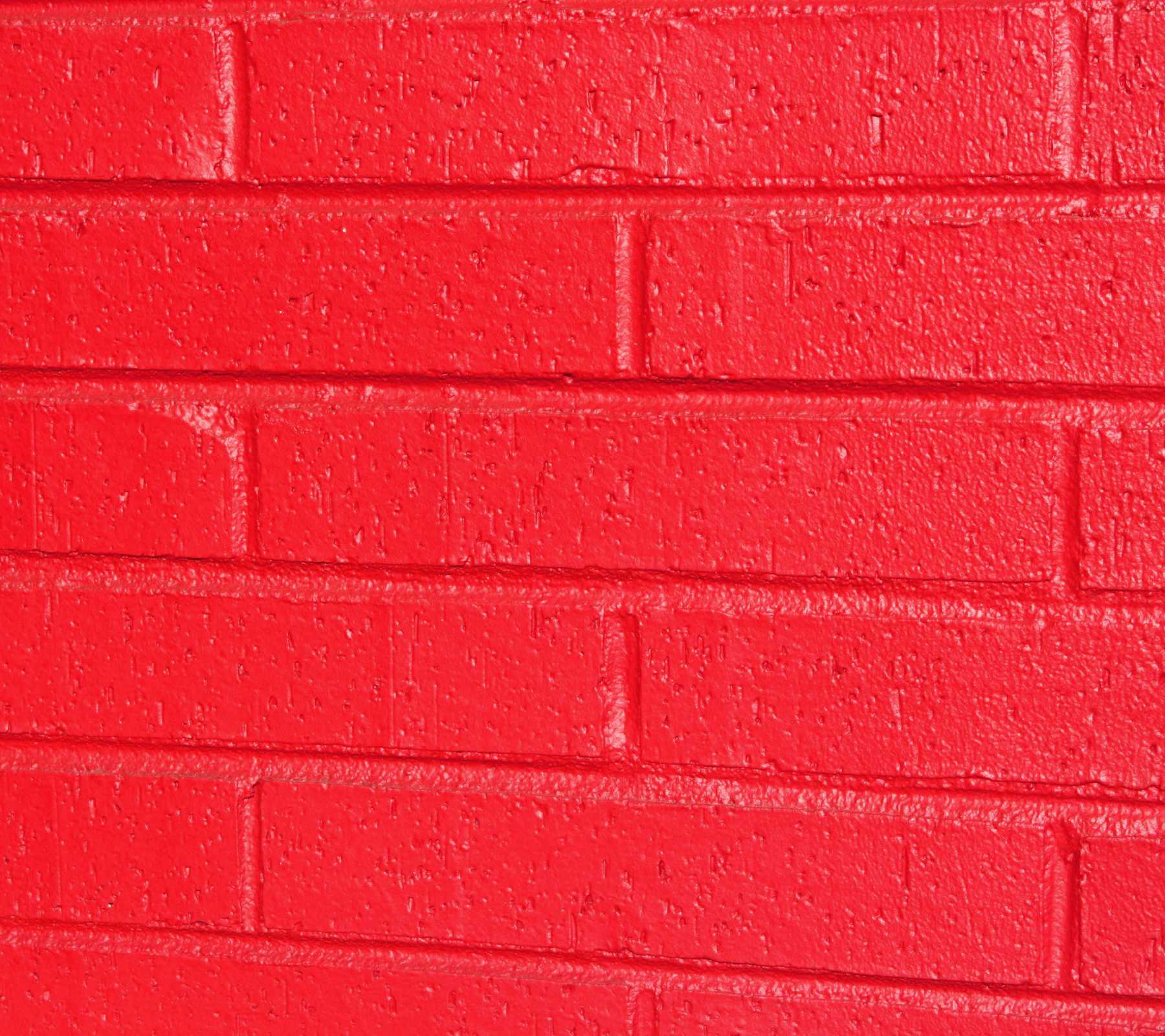 Bricks painted bright red background image wallpaper or for Bright wallpaper for walls