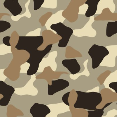 Army Desert Camouflage Background