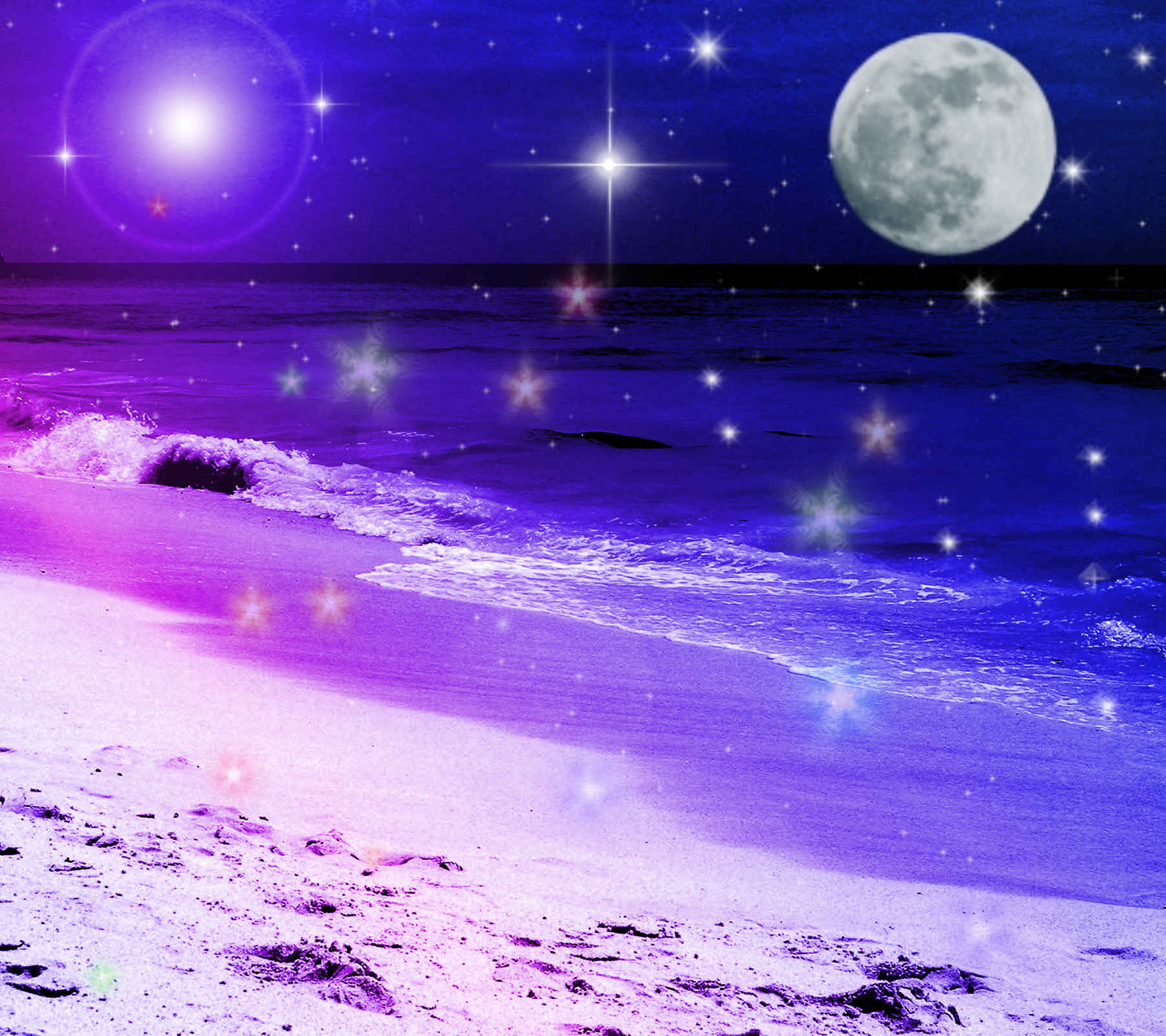 download wallpapers purple ocean - photo #34
