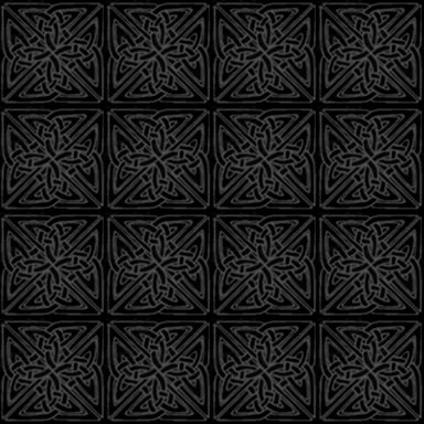 Gray Black Celtic Squares Seamless Background Pattern