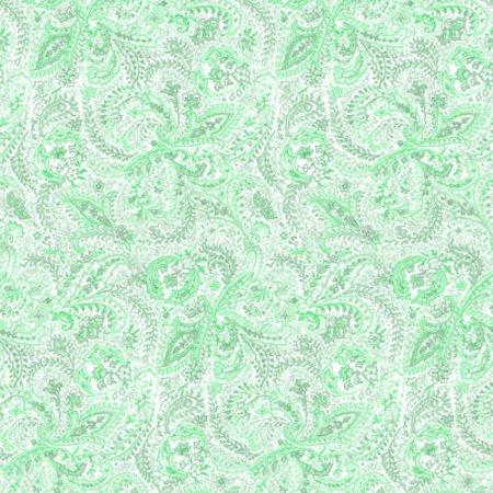 Light Green Paisley Background Seamless Background Image ...