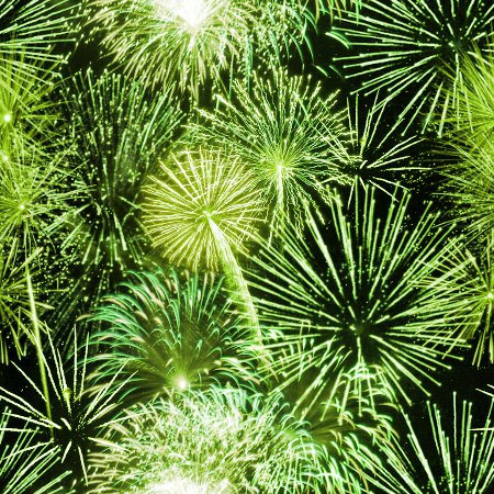 Lime Green Fireworks Tiled Background Wallpaper Background ...