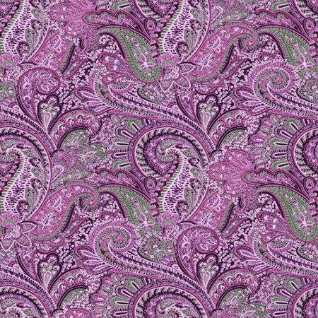 Magenta Paisley Pattern Background Seamless Background ...