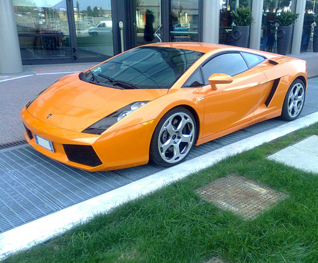 Orange Lamborghini Background Image Wallpaper Or Texture