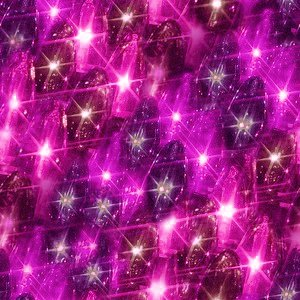 Pink Christmas Lights Texture Seamless Background Image