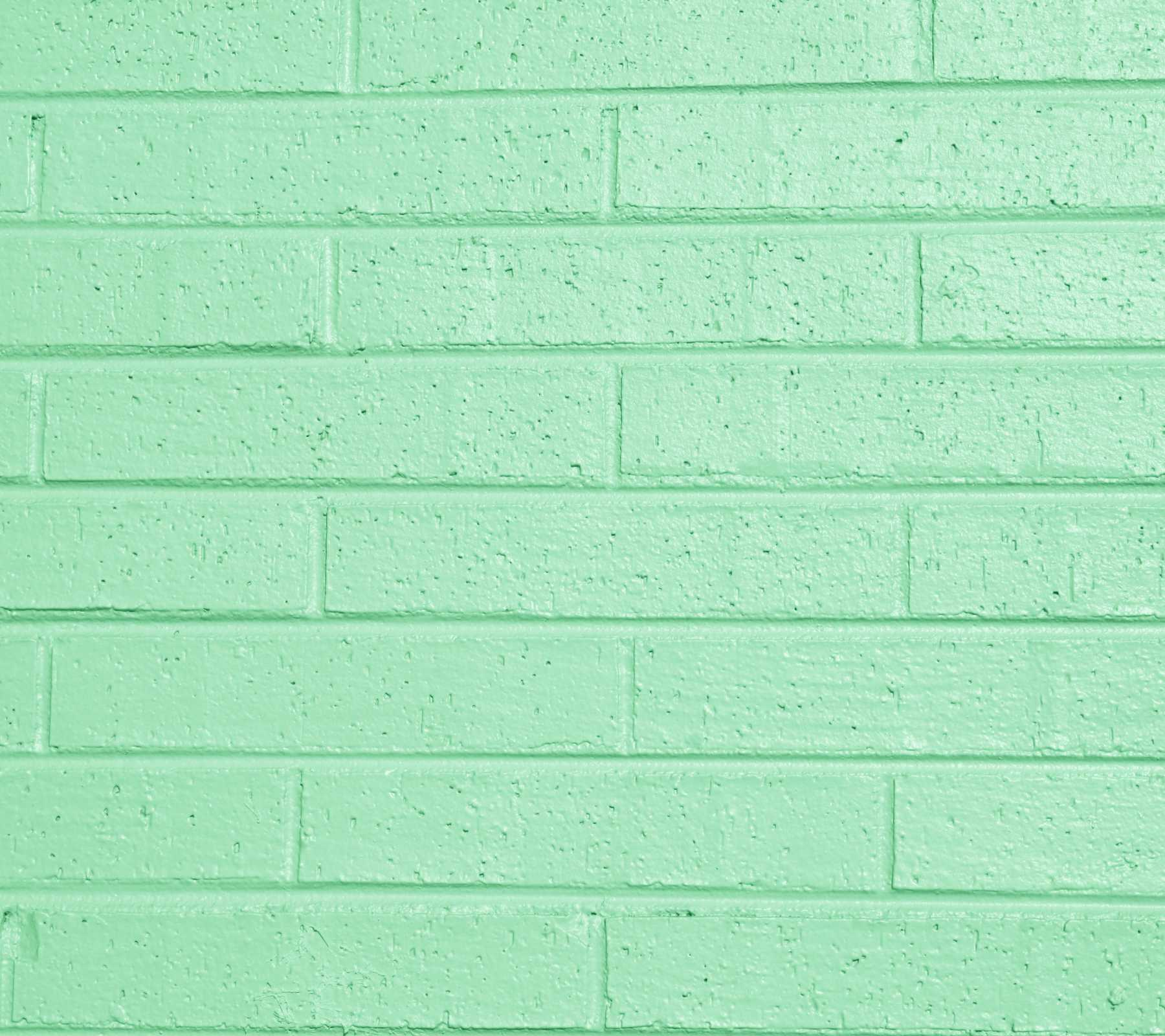 Pistachio green painted brick wall background image for Green wallpaper for walls
