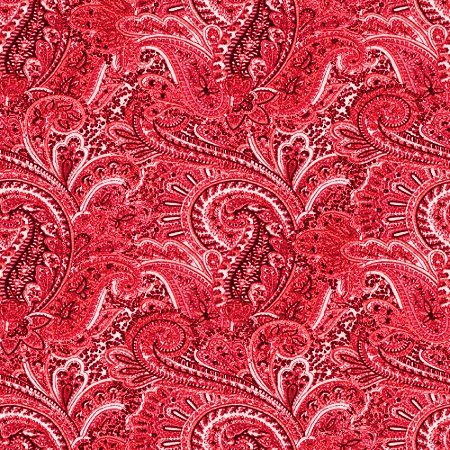 Red Paisley Pattern Background Seamless Background Image ...