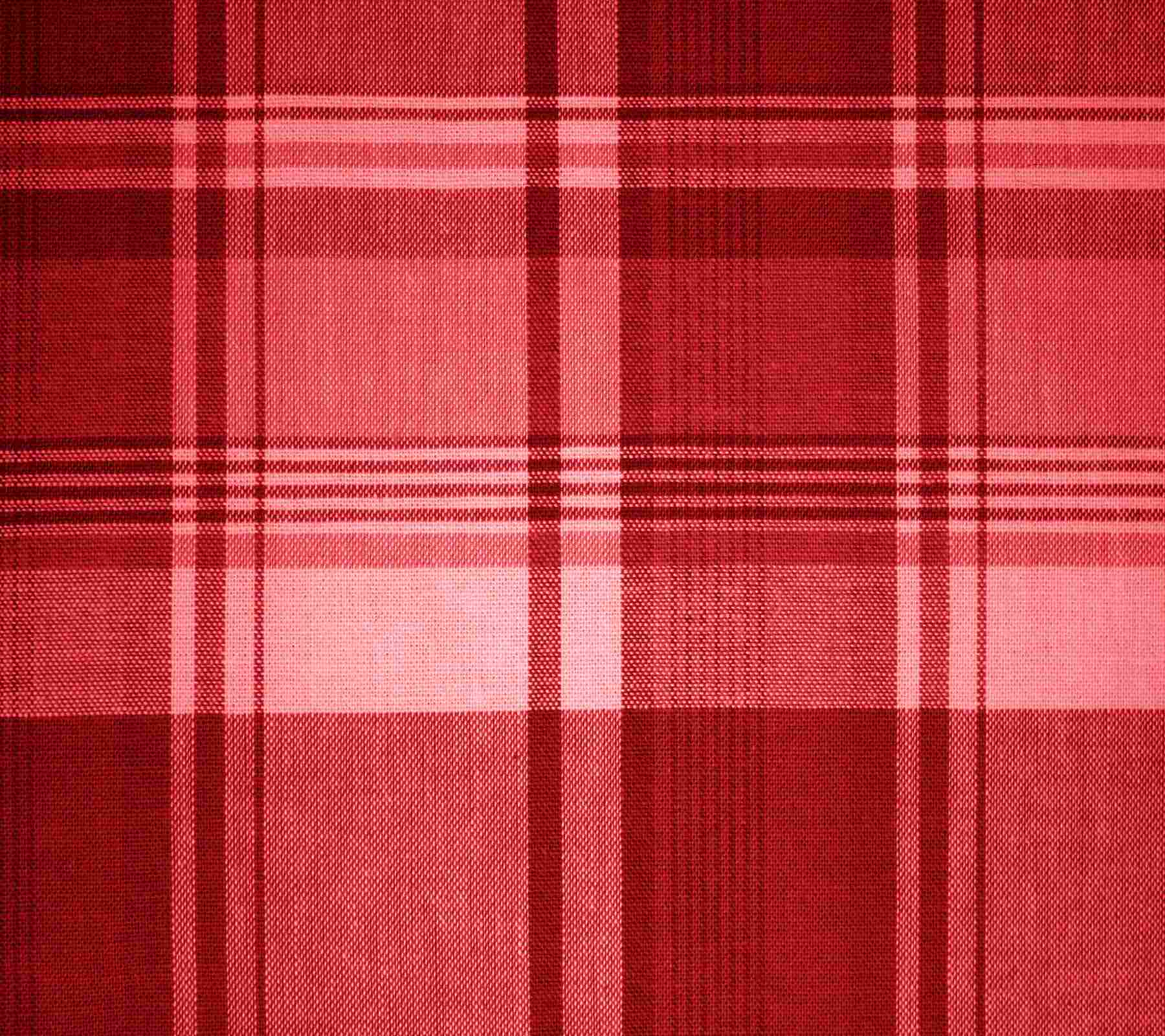 Red Plaid Fabric Background 1800x1600 Background Image