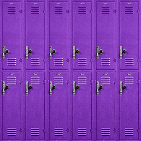 School Lockers Background Purple Tiled Background Image