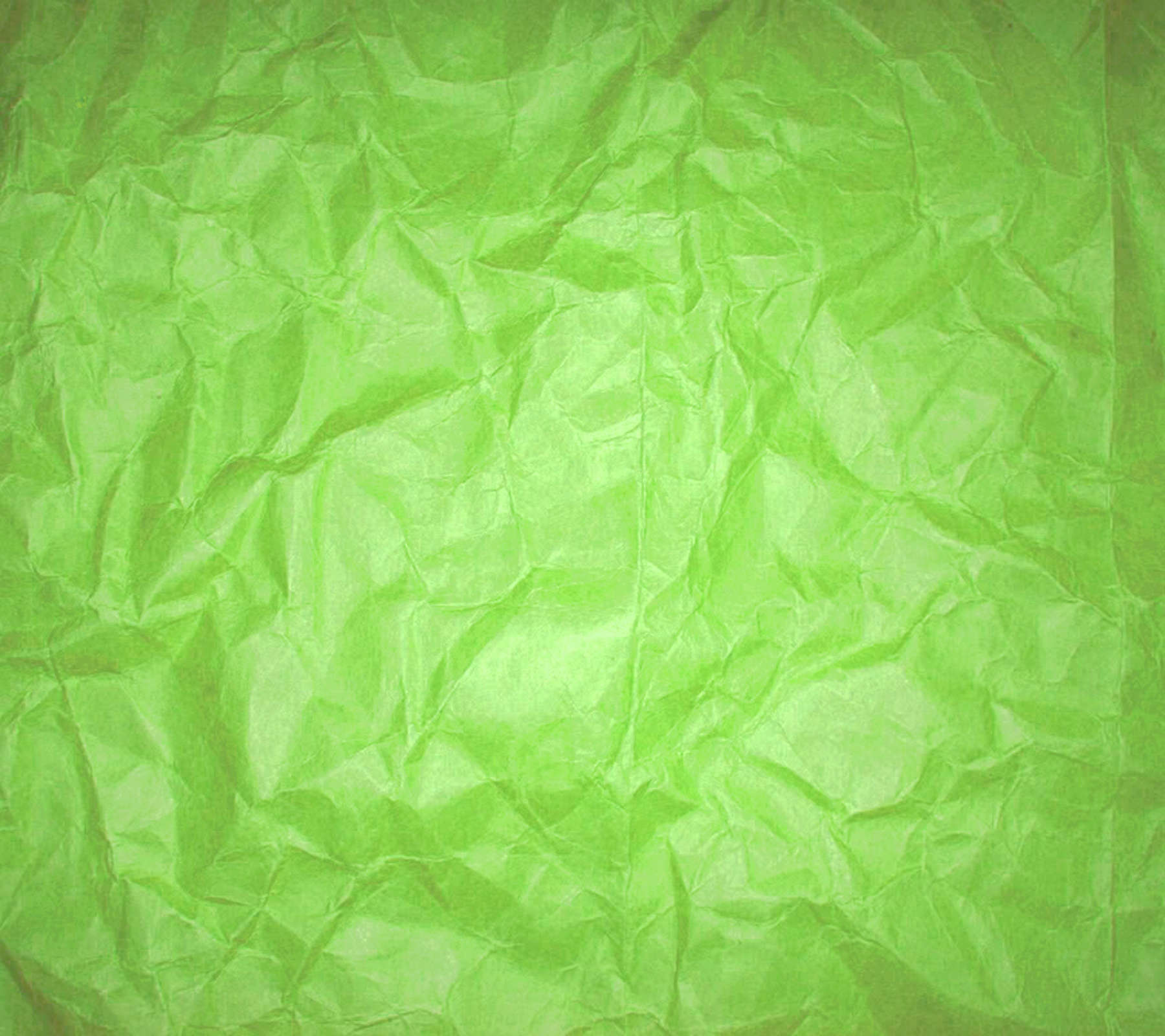 Wrinkled Lime Green Paper Background 1800x1600 Background ...
