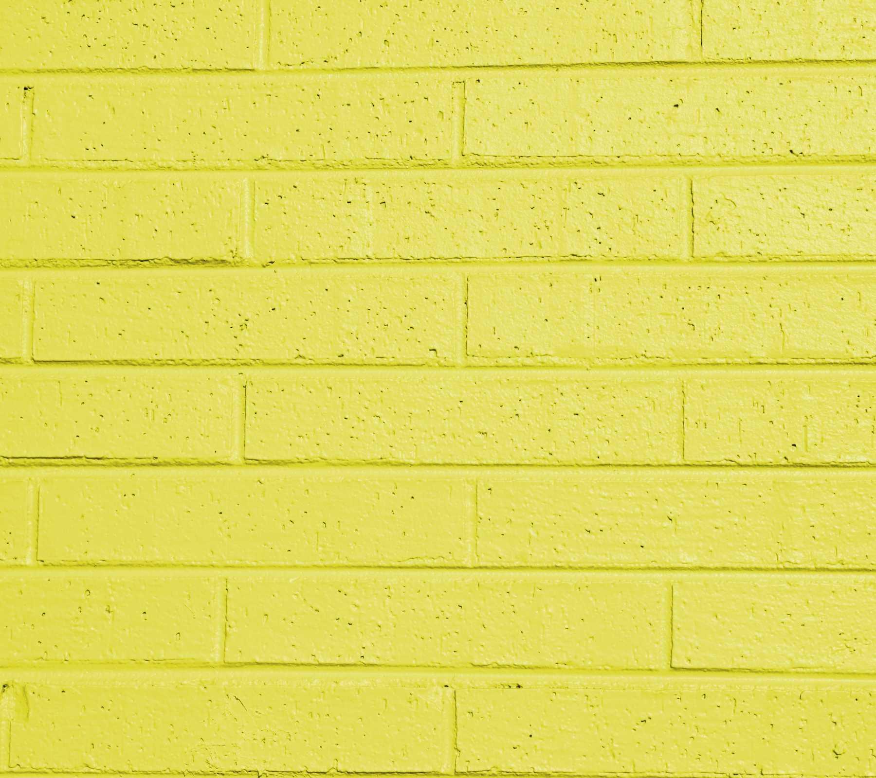Yellow Painted Brick Wall 1800x1600 Background Image