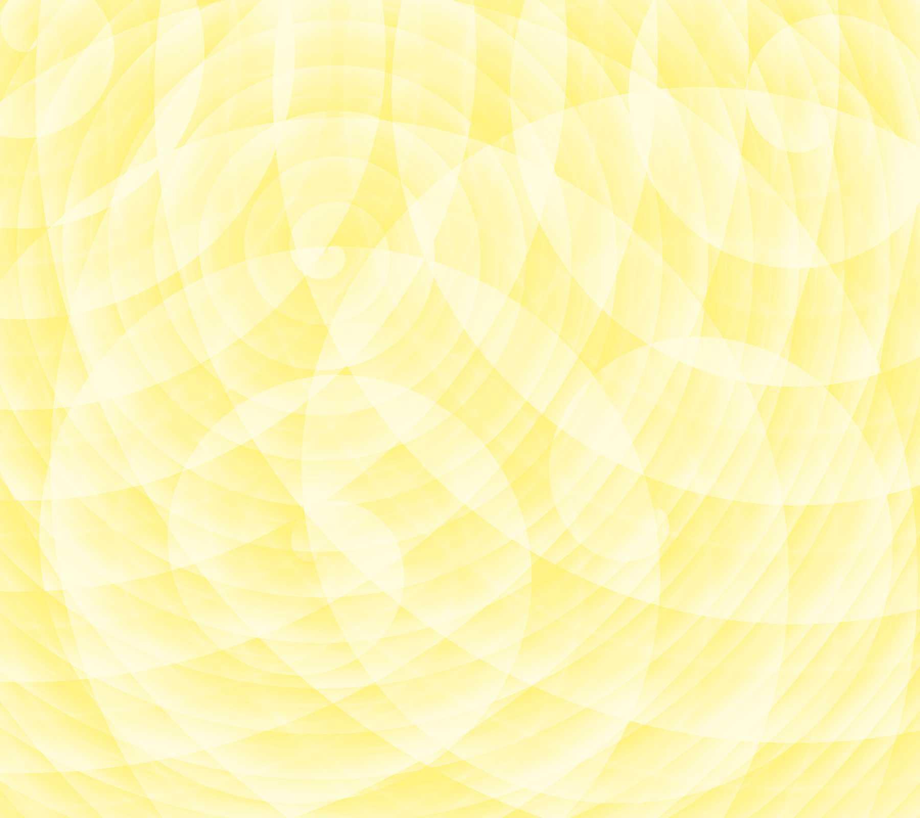 Yellow Random Spiral Swirls Background 1800x1600